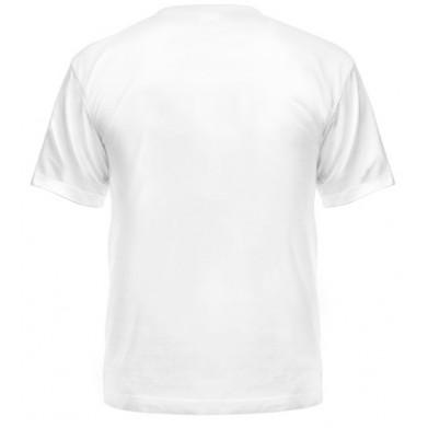Цвет Белый, Футболки мужские 06904 - Moda Print