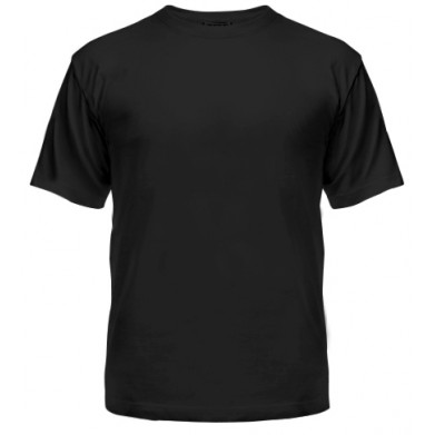 Цвет Черный, Футболки мужские 06904 - Moda Print