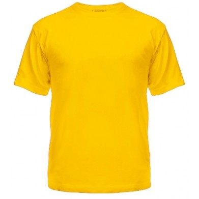 Цвет Желтый, Футболки мужские 06904 - Moda Print