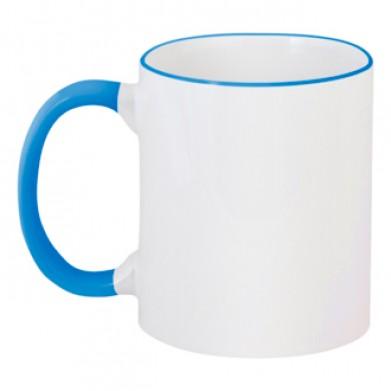 Цвет Синий, Чашки двухцветные 06923 - Moda Print