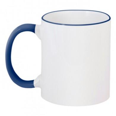 Цвет Темно-синий, Чашки двухцветные 06923 - Moda Print