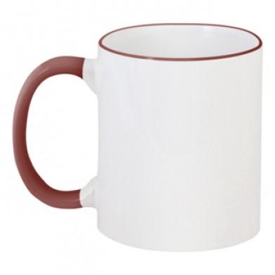 Цвет Коричневый, Чашки двухцветные 06923 - Moda Print