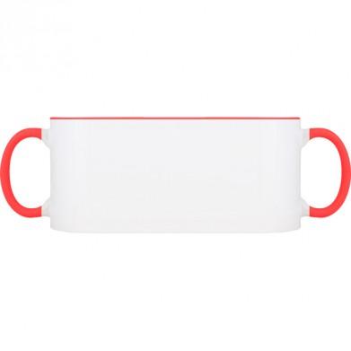 Колір Червоний, Чашки (Свій принт) двокольорові 06923 - Moda Print