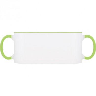 Колір Зелений, Чашки (Свій принт) двокольорові 06923 - Moda Print