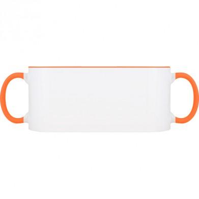 Колір Оранжевий, Чашки (Свій принт) двокольорові 06923 - Moda Print