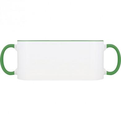 Колір Темно-зеленый, Чашки (Свій принт) двокольорові 06923 - Moda Print