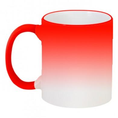 Цвет Красный, Кружки-хамелеоны 06925 - Moda Print