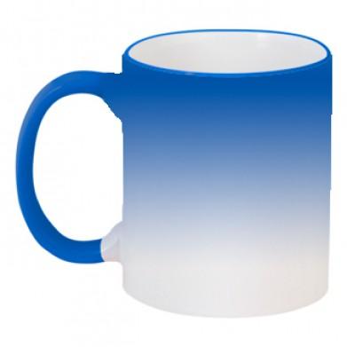 Колір Синій, Кружки-хамелеони 06925 - Moda Print