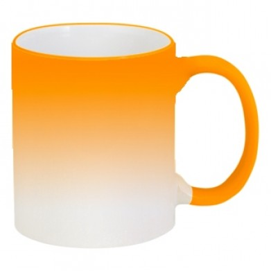 Цвет Оранжевый, Кружки-хамелеоны 06925 - Moda Print
