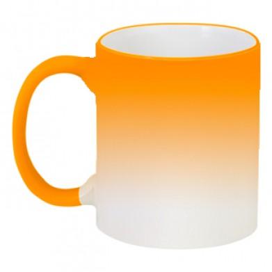 Колір Оранжевий, Кружки-хамелеони 06925 - Moda Print