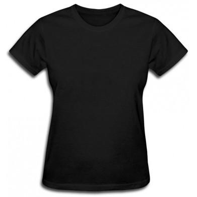 Цвет Черный, Футболки женские 06909 - Moda Print