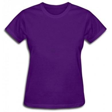 Цвет Фиолетовый, Футболки женские 06909 - Moda Print