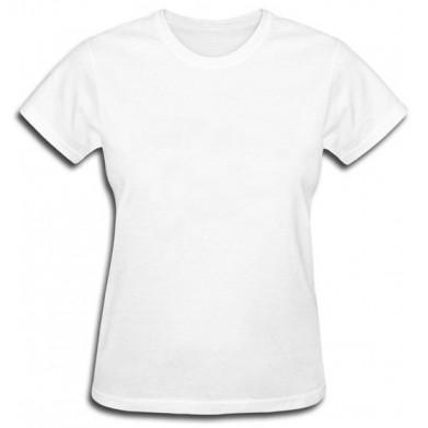Цвет Белый, Футболки женские 06909 - Moda Print