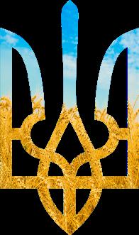 Принт Подушка с символикой Украины - Moda Print