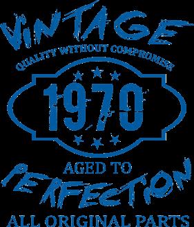 Принт Подушка Wintage Perfection 1970 - Moda Print