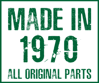 Принт Подушка Made in 1970 - Moda Print