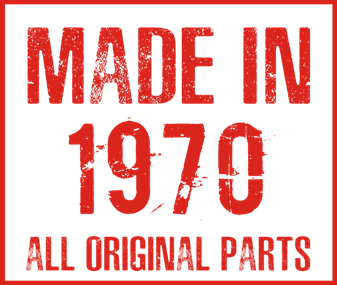 Принт Фартук Made in 1970 - Moda Print