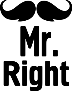 Принт Кружка Mr. Right - Moda Print