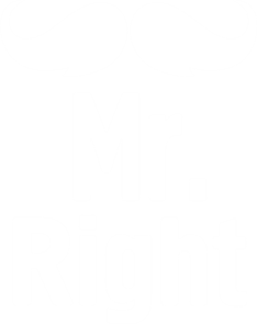 Принт Футболка чоловіча Mr. Right - Moda Print