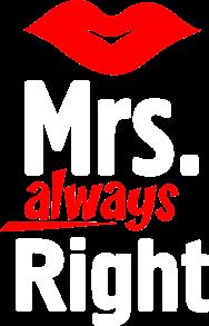 Принт Футболка женская Mrs. Right - Moda Print
