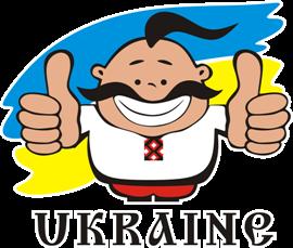 Принт Футболка жіноча UKRAINE - Moda Print