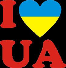 Принт Кружка двухцветная I LOVE UA - Moda Print