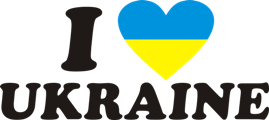 Принт Чашка двокольорова I LOVE UKRAINE 2 - Moda Print