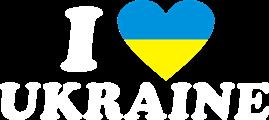 Принт Футболка чоловіча I LOVE UKRAINE 2 - Moda Print