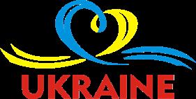 Принт Чашка UKRAINE (Сердечко з стрічкою) - Moda Print