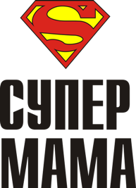 Принт Чашка двокольорова SUPER МАМА - Moda Print