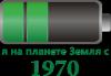 Я на планете Земля с 1970