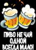 Пиво не чай