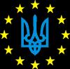 Герб Украины, звездочки вокруг