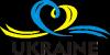 UKRAINE (Сердечко с ленточкой)