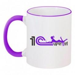 Чашка двухцветная 1 С - Moda Print