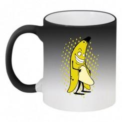 Кружка-хамелеон Бананчик