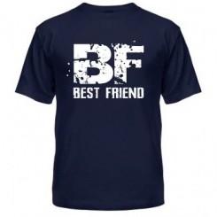 Мужская футболка Best friend - Moda Print