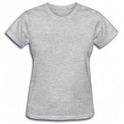 Женская футболка без принта - Moda Print