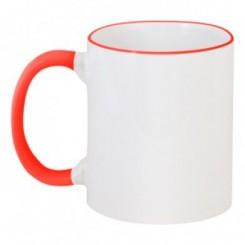 Чашка двухцветная без принта - Moda Print