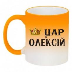Кружка-хамелеон царь Алексей - Moda Print