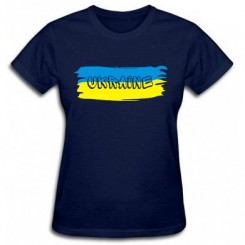 Футболка женская Флаг Украины - Moda Print