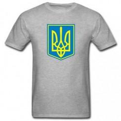 Футболка детская Герб Украины с фоном - Moda Print
