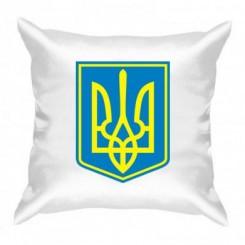 Подушка Герб Украины с фоном - Moda Print