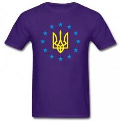 Футболка детская Герб Украины, звездочки вокруг - Moda Print