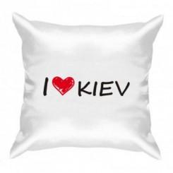 Подушка i love kiev - Moda Print