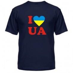 Мужская футболка I LOVE UA - Moda Print