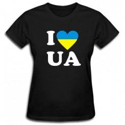 Футболка женская I LOVE UA - Moda Print