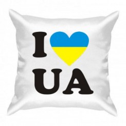 Подушка I LOVE UA - Moda Print