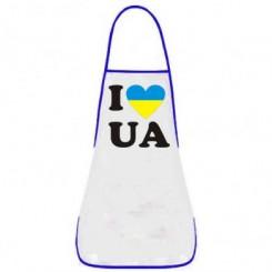 Фартук I LOVE UA - Moda Print