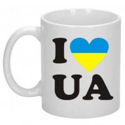 Кружка I LOVE UA - Moda Print